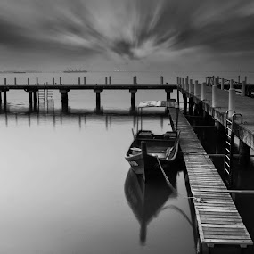 The after tomorrow by Kelvin Zyteng - Landscapes Waterscapes ( black and white, b and w, landscape, b&w, monotone, mono-tone, , garyfonglandscapes, holiday photo contest, photocontest )