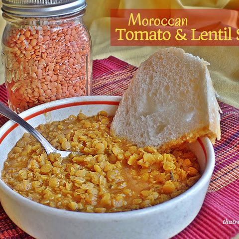 Moroccan Lentil and Tomato Soup