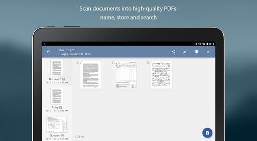TurboScan: document scanner - screenshot