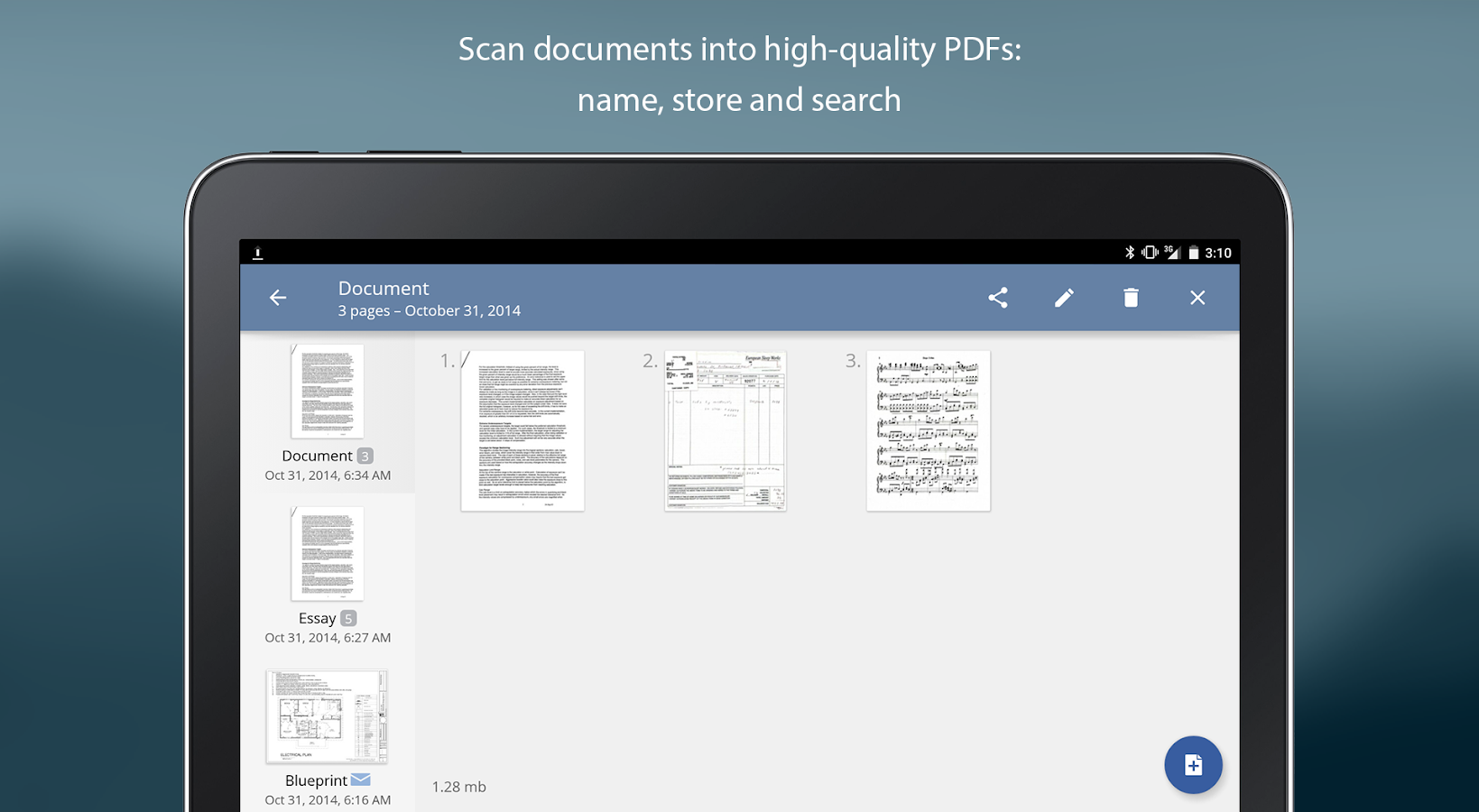 TurboScan: scan documents and receipts in PDF Screenshot 13