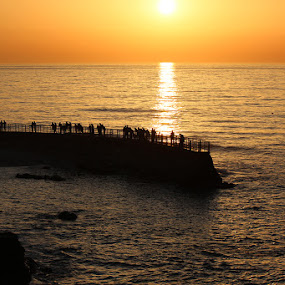 Sunset by Mi Mundo - Landscapes Sunsets & Sunrises ( sunset, beach sunset, beach )