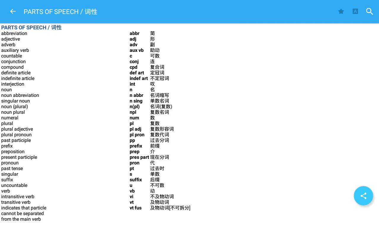 Collins Chinese Dictionary Screenshot 13