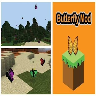 Butterfly Mod PE - screenshot