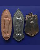8.กล่องชุดพระ 25 พุทธศตวรรษ 3 องค์ ดิน-ชิน-เหรียญ พ.ศ. 2500