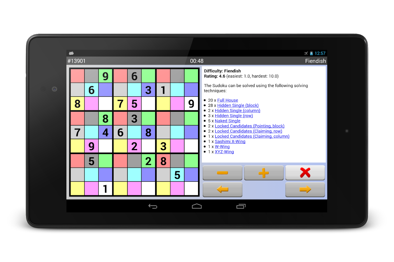 Sudoku 10'000 Plus Screenshot 12