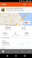 Screenshot of Strava Running and Cycling GPS