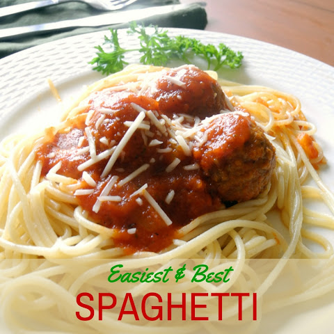 Easiest Best Spaghetti Sauce