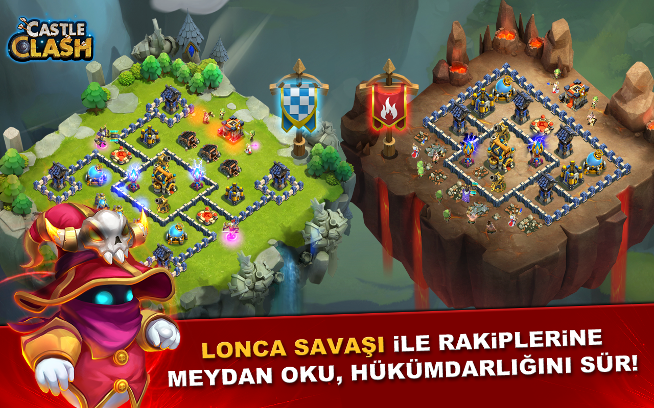 Castle Clash: Efsaneler Çağı Screenshot 11