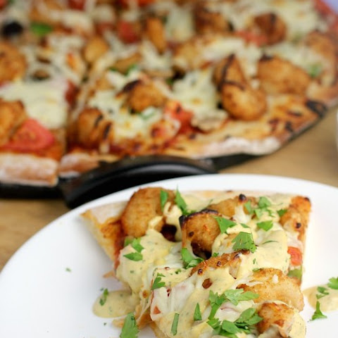 Shrimp Po' Boy Pizza