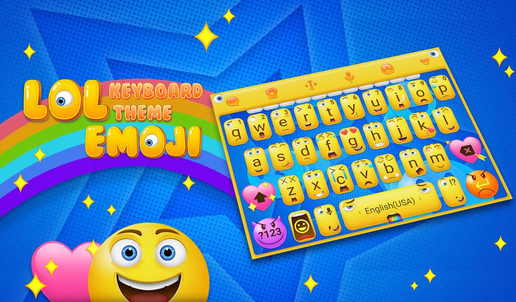 Cute Emotions Emoji Keyboard Theme für Android android apps download