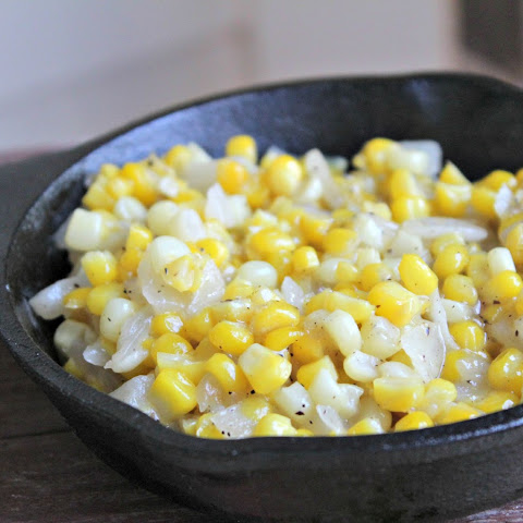 Skillet Sweet Corn for Two