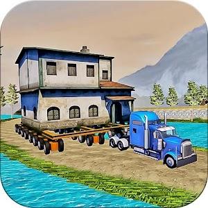House Transport Cargo Truck Simulator 3d