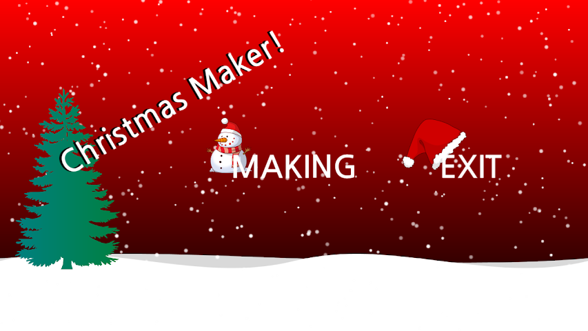 android Christmas Maker Screenshot 1