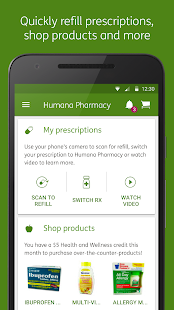 Humana Pharmacy screenshot for Android