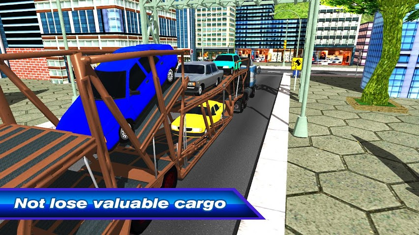 android Car Transporter Truck 3D Screenshot 2