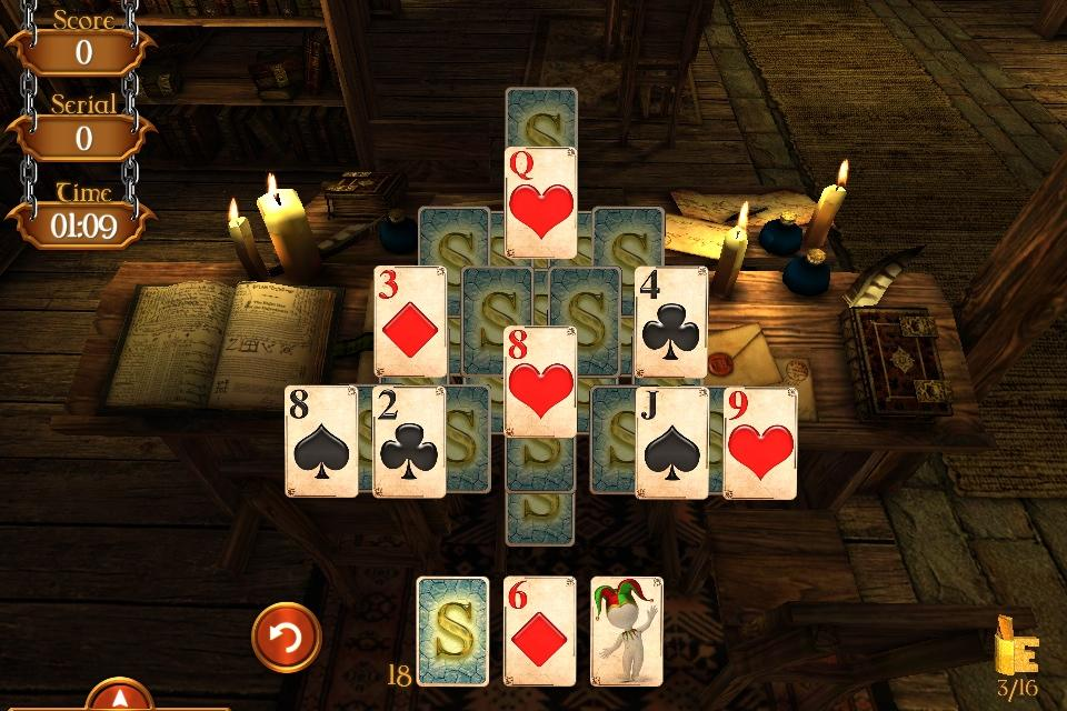 Solitaire Dungeon Escape Screenshot 3