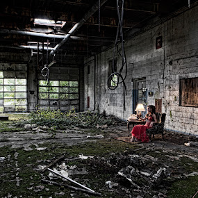 Prom Night II by Benjamin Dean - Buildings & Architecture Decaying & Abandoned