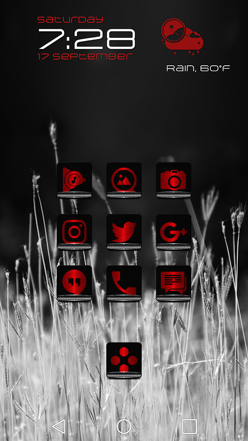 Exec Red Icon Pack Screenshot 0