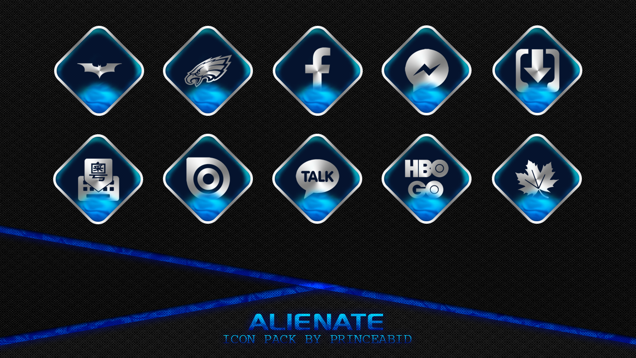 Alienate Icon Pack Screenshot 4