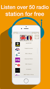 RADIO UK FM - FREE APP PLAYER - screenshot