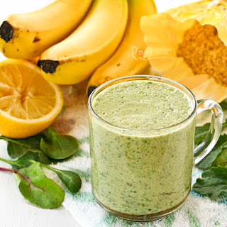 Power Greens Banana Smoothie