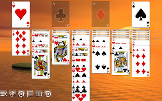Screenshot of Yukon Solitaire Free