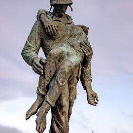 Holocaust Rescue by Diane Ljungquist - Buildings & Architecture Statues & Monuments