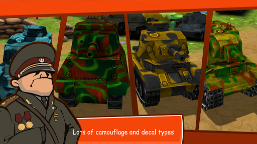 Toon Wars -Battle tanks online - screenshot