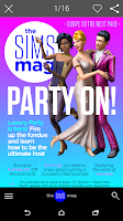 Screenshot of The Sims Official Magazine