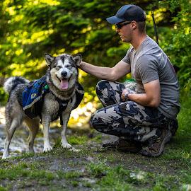 Eric and Amira by Matt  Glenn - Animals - Dogs Portraits