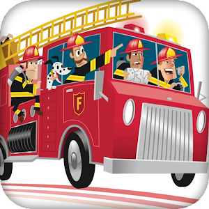 Download Fire Truck Big Wheel Kids Game For PC Windows and Mac