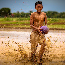 Mud-Football by Imron Rosyadi - Sports & Fitness Soccer/Association football