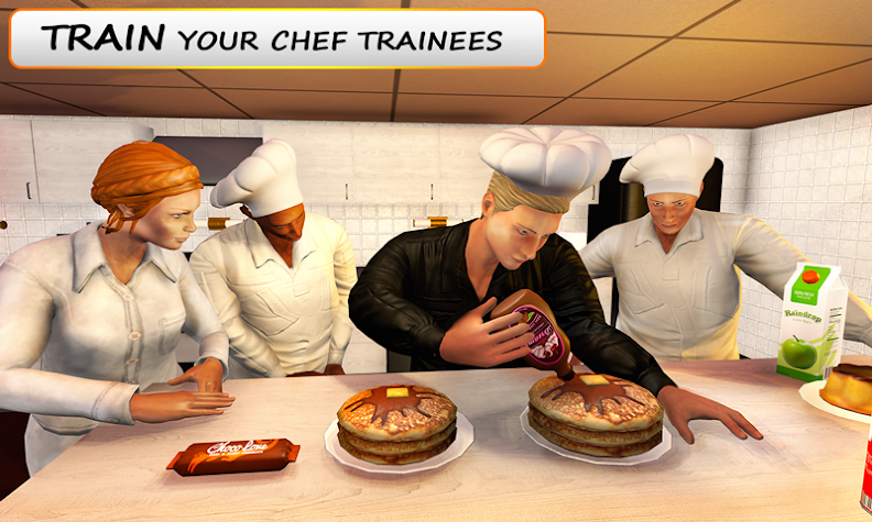 MY restaurant Manager: Virtual manager games 3D Screenshot