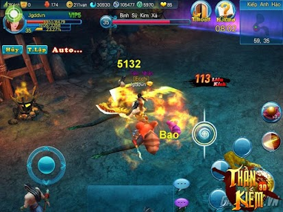 Phong Than Dai Kiem - TK 3D - screenshot