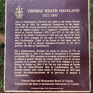 THOMAS HEATH HAVILAND1822-1895Born in Charlottetown, Haviland was called to the Prince Edward Island bar in 1846. He represented Georgetown in the legislature (1847-70), serving successively as ...