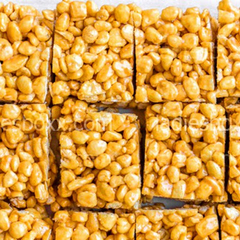 Caramel Corn Pops Treats