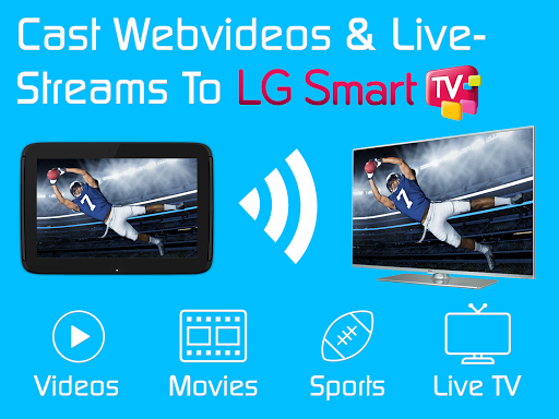 Video & TV Cast LG Smart TV - screenshot