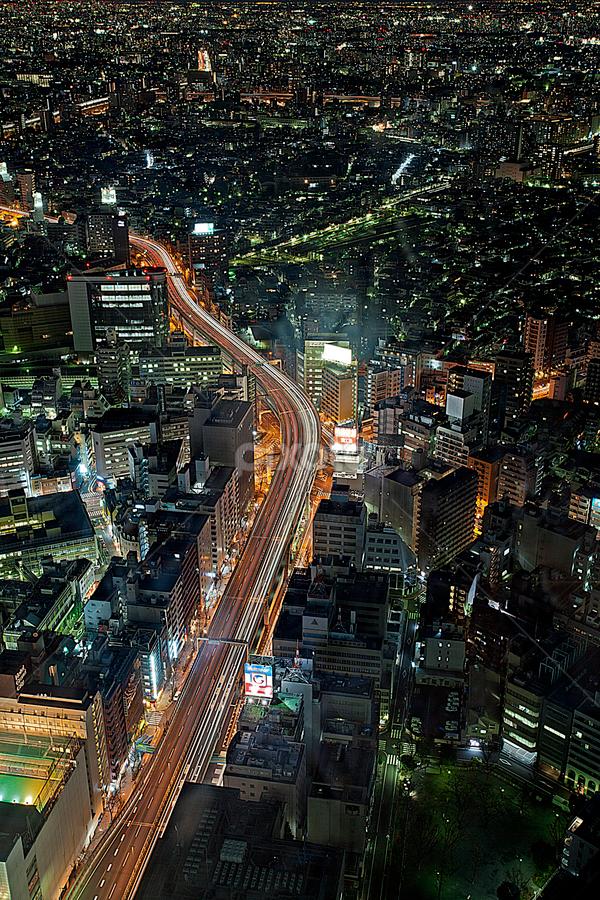 Ikebukuro evening. by Ketut Pujantara - City,  Street & Park  Street Scenes