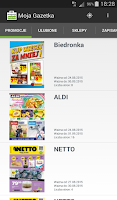Screenshot of Moja Gazetka, promocje, kupony