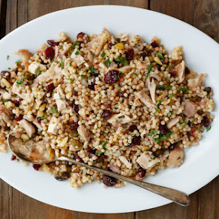 Lemon Couscous with Craisins and Chicken