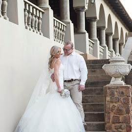 Charlene & Deon by Giselle Hammond - Wedding Bride & Groom ( love, wedding, south africa, precious, wedding dress, beauty, bride, moments, groom )