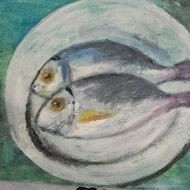 Dinner by Vanja Škrobica - Painting All Painting