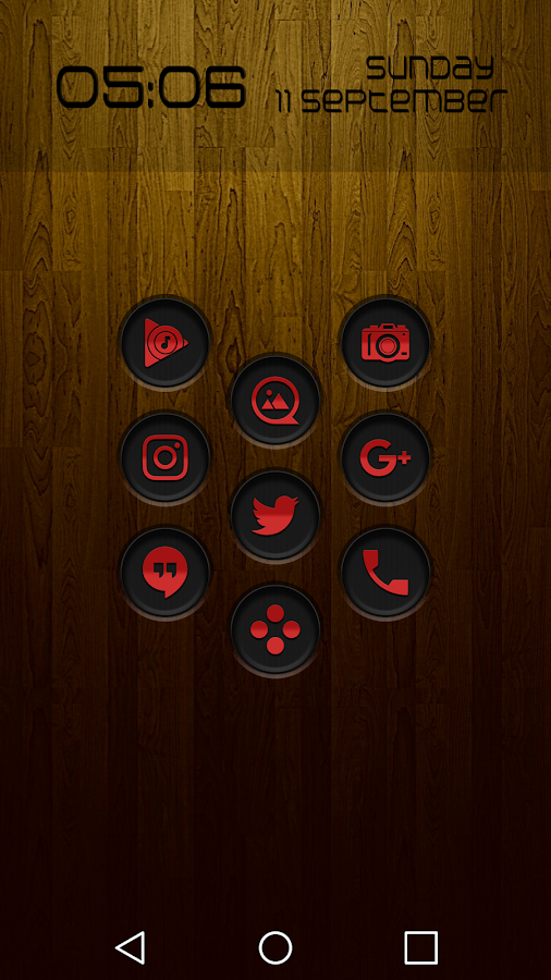 Jaron XE Red Icon Pack Screenshot