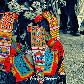 Kaleidoscopic Kalash by Hamza Hassan - People Fashion