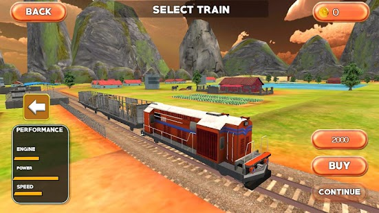Farm Animal Train Transporter - screenshot