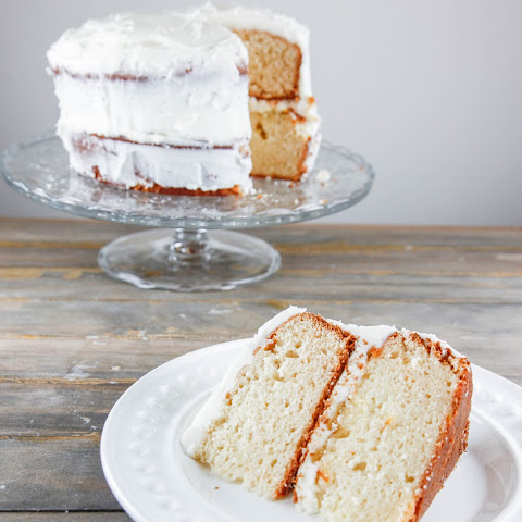 White chocolate Marmalade Cake