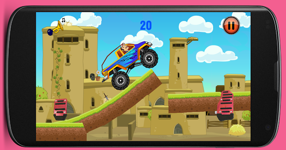 Bang Jarwo Hill Climb Game - screenshot