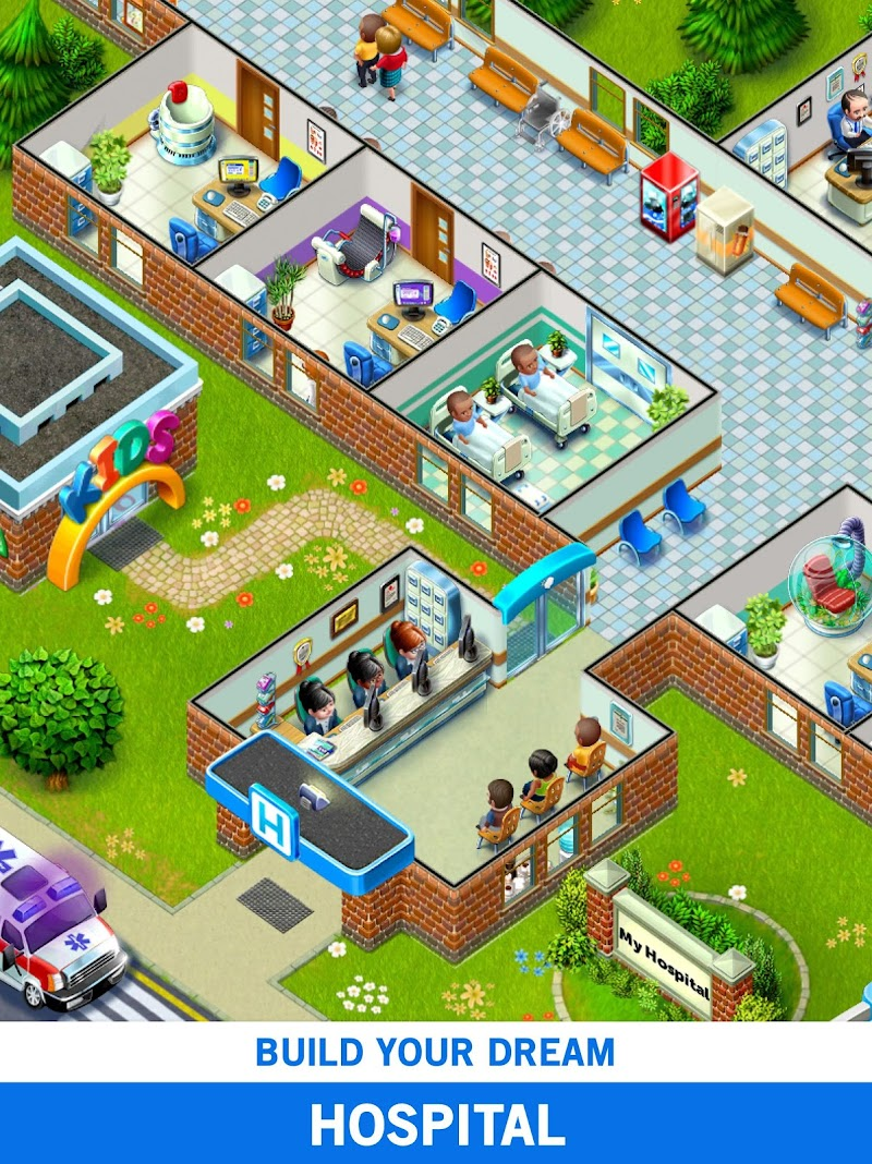 My Hospital: Build and Manage Screenshot 10