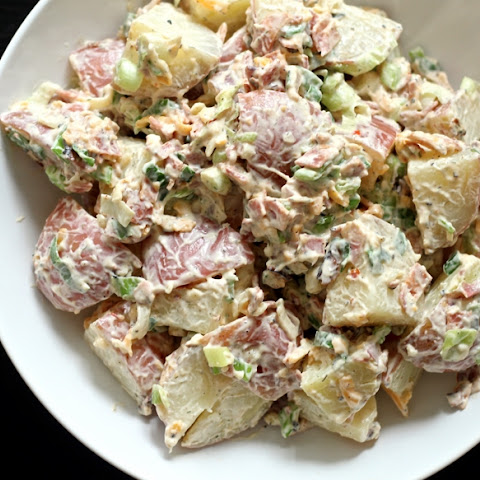 Loaded Potato Salad & Chipotle Ranch Dressing