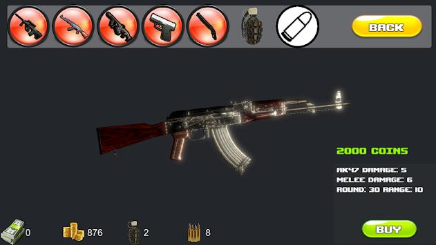 Zombies vs guerrilla legend apk screenshot